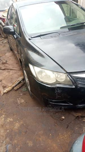 Honda Civic 2007 1.8 Sedan EX Automatic Black | Cars for sale in Lagos State, Kosofe