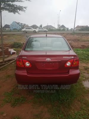 Toyota Corolla 2004 Red | Cars for sale in Abuja (FCT) State, Gwarinpa