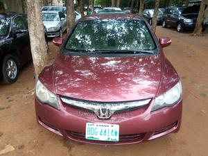 Honda Civic 2007 1.8 Red | Cars for sale in Abuja (FCT) State, Gaduwa