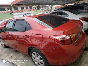 Toyota Corolla 2017 Red   Cars for sale in Lagos State, Agege