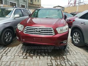 Toyota Highlander 2008 Limited 4x4 Red   Cars for sale in Lagos State, Ikeja