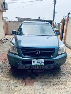 Honda Pilot 2005 LX 4x4 (3.5L 6cyl 5A) Green | Cars for sale in Lagos State, Ikorodu