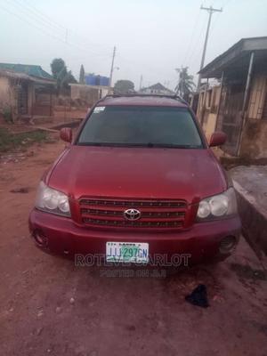 Toyota Highlander 2003 Base AWD Red   Cars for sale in Lagos State, Ifako-Ijaiye