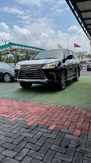 Lexus LX 2020 570 (5 Seats) AWD Black   Cars for sale in Lagos State, Lekki