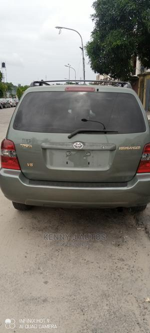 Toyota Highlander 2005 Green | Cars for sale in Lagos State, Amuwo-Odofin