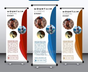3ft Roll-up Banner | Printing Equipment for sale in Lagos State, Ikotun/Igando