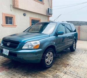 Honda Pilot 2005 EX-L 4x4 (3.5L 6cyl 5A) Green | Cars for sale in Lagos State, Ikorodu