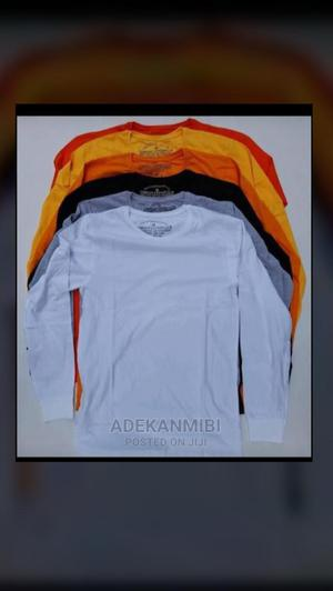 Long Sleeve Plain T-Shirt | Clothing for sale in Lagos State, Apapa