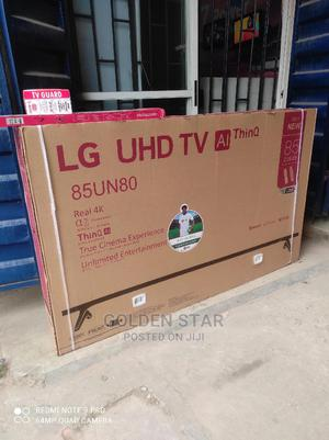 """✓2021 New One LG 85"""" UHD Android 4K SMART TV High Definition   TV & DVD Equipment for sale in Lagos State, Apapa"""