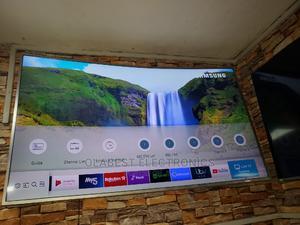 "55"" Uhd Curve 4k Samsung Smart TV | TV & DVD Equipment for sale in Lagos State, Ojo"