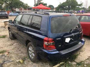 Toyota Highlander 2004 V6 AWD Blue | Cars for sale in Lagos State, Amuwo-Odofin