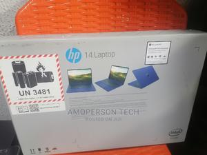 New Laptop HP 14-Dq1025cl 4GB Intel Celeron SSD 640GB | Laptops & Computers for sale in Lagos State, Ikeja