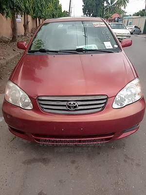 Toyota Corolla 2007 LE Red   Cars for sale in Lagos State, Ikeja