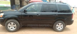 Honda Pilot 2004 EX 4x4 (3.5L 6cyl 5A) Black   Cars for sale in Anambra State, Onitsha