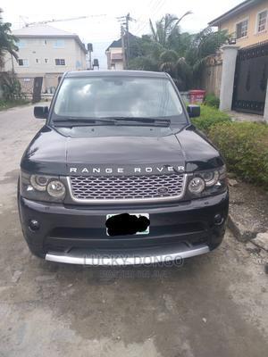 Land Rover Range Rover Sport 2008 4.2 V8 SC Black | Cars for sale in Lagos State, Lekki