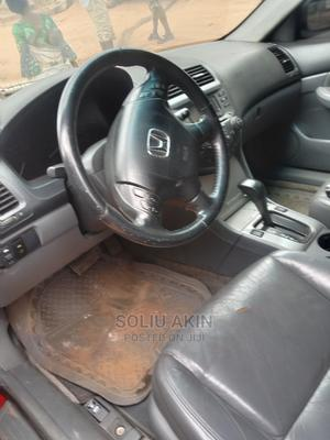 Honda Accord 2007 2.0 Comfort Automatic Red | Cars for sale in Lagos State, Alimosho