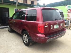 Honda Pilot 2003 LX 4x4 (3.5L 6cyl 5A) Red | Cars for sale in Lagos State, Gbagada