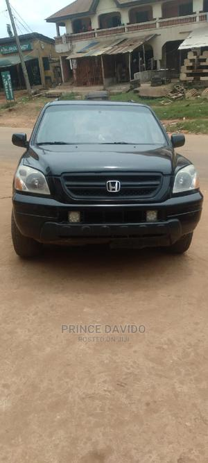 Honda Pilot 2004 EX 4x4 (3.5L 6cyl 5A) Black | Cars for sale in Anambra State, Onitsha