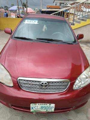 Toyota Corolla 2006 LE Red | Cars for sale in Ekiti State, Ado Ekiti