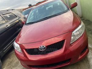 Toyota Corolla 2010 Red   Cars for sale in Lagos State, Ogba