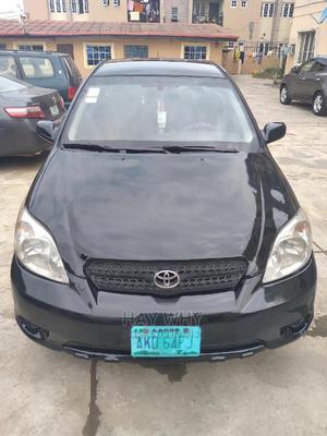 Toyota Matrix 2007 Hatchback 1.8 16V AWD Black | Cars for sale in Lagos State, Shomolu