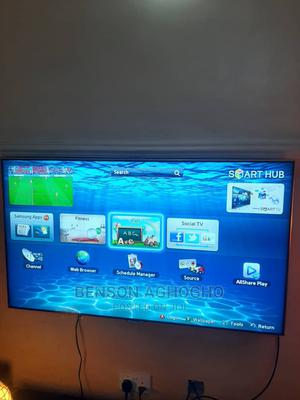 Samsung Smart TV 55 Inch for Sale   TV & DVD Equipment for sale in Abuja (FCT) State, Lokogoma