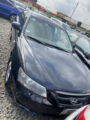 Hyundai Sonata 2008 2.4 Black | Cars for sale in Lagos State, Ogba
