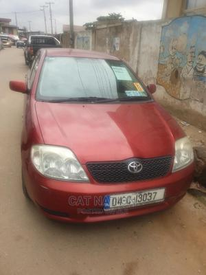 Toyota Corolla 2004 LE Red | Cars for sale in Lagos State, Ojodu