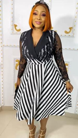 Black and White Turkey Flare Gown   Clothing for sale in Lagos State, Apapa