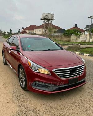 Hyundai Sonata 2015 Red | Cars for sale in Abuja (FCT) State, Garki 2