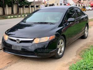 Honda Civic 2007 1.8 Sedan EX Automatic Black | Cars for sale in Abuja (FCT) State, Gwarinpa