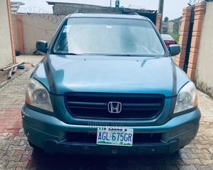 Honda Pilot 2005 EX 4x4 (3.5L 6cyl 5A) Blue | Cars for sale in Lagos State, Ikorodu