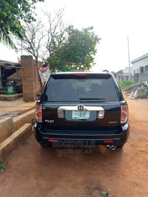 Honda Pilot 2007 EX-L 4x4 (3.5L 6cyl 5A) Black   Cars for sale in Lagos State, Ipaja