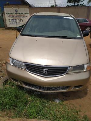 Honda Odyssey 2001 3.0 2WD Gold | Cars for sale in Lagos State, Alimosho