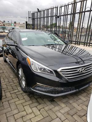 Hyundai Sonata 2015 Black | Cars for sale in Lagos State, Ojodu