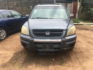Honda Pilot 2005 Gray   Cars for sale in Lagos State, Alimosho