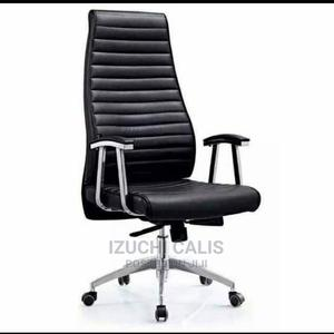 Executive Office Chair (Black)   Furniture for sale in Rivers State, Port-Harcourt