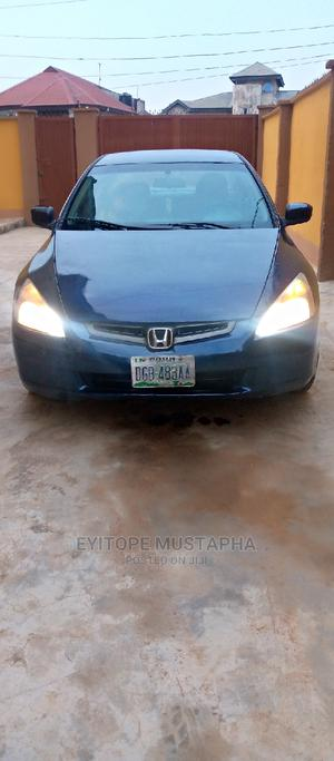 Honda Accord 2005 2.0 Comfort Blue | Cars for sale in Lagos State, Alimosho