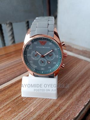 Grey Waterproof Quality Watch For Men | Watches for sale in Lagos State, Surulere