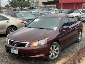 Honda Accord 2008 2.0 Comfort Automatic Red | Cars for sale in Abuja (FCT) State, Jahi