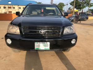 Toyota Highlander 2003 Limited V6 AWD Black | Cars for sale in Lagos State, Isolo