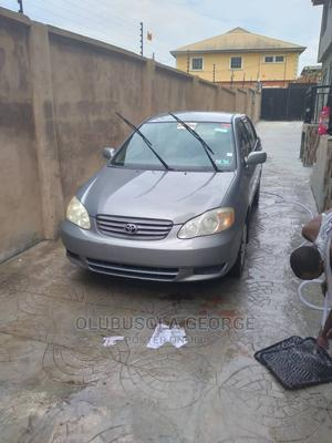Toyota Corolla 2003 Gray | Cars for sale in Lagos State, Ikorodu