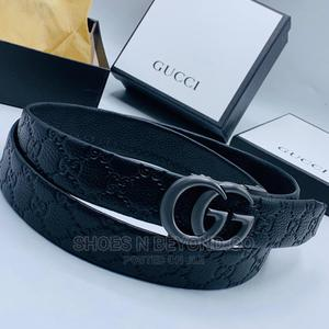GUCCI LUXURY Leather Belt for King's | Clothing Accessories for sale in Lagos State, Lagos Island (Eko)