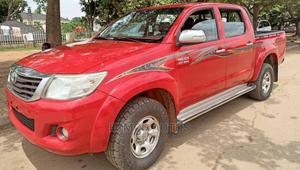 Toyota Hilux 2015 SR 4x4 Red | Cars for sale in Abuja (FCT) State, Gudu