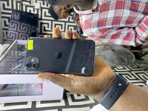 Apple iPhone 11 128 GB Black   Mobile Phones for sale in Lagos State, Ikeja