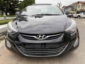 Hyundai Elantra 2012 Limited Black | Cars for sale in Lagos State, Ikeja