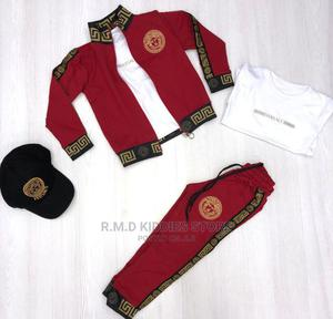 Set of VERSACE With Cap | Children's Clothing for sale in Lagos State, Alimosho