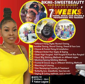 Hair Fixing Training, Bridal Hair Styling And Wig Training | Classes & Courses for sale in Lagos State, Yaba
