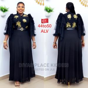 Beautiful Black Long Gown   Clothing for sale in Lagos State, Victoria Island