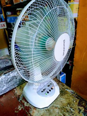 DC Rechargeable Fan With Solar Panel | Solar Energy for sale in Lagos State, Ikeja